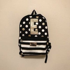 """Justice """"E"""" Backpack"""